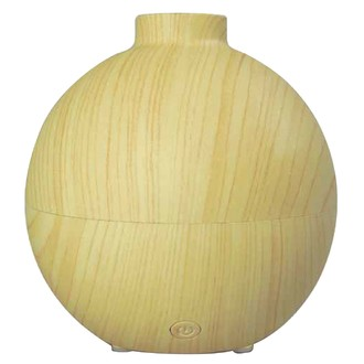 Diffuseur d'huiles essentielles en bois sphérique oléo