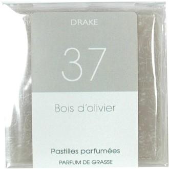 4 carrés fondants bois d'olivier