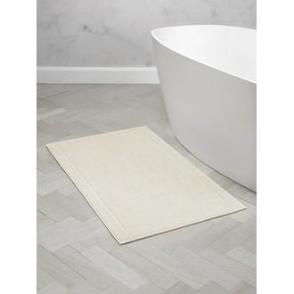 Maom - tapis de bain en éponge beige clair 60x100cm 1300g/m²
