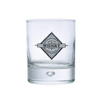Verre à whisky en verre transparent Disco29cl
