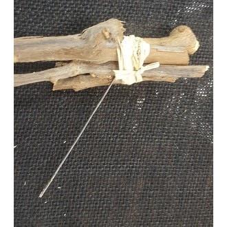 Fagots de bois à piquer x3 naturel 10cm