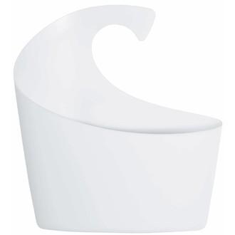 Panier de douche en plastique blanc Sydney Taille M