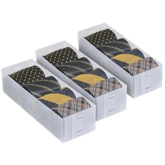 3 séparateurs de tiroir blanc petit modèle