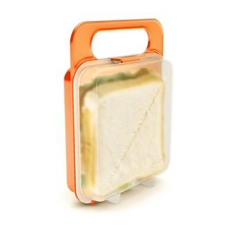 Boîte de conservation pour sandwich orange