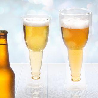 BALVI - Set de 2 verres à bière avec double paroi 0,4l