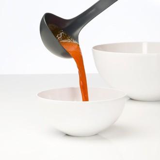 ROSTI MEPAL - Set d'une spatule et louches 3 piéces blanches