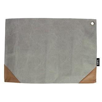 GUSTA - Napperon en toile gris 45x32cm