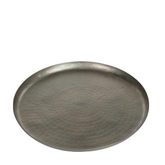 Plateau en métal argent Malu D36,8