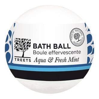 NATURE'S CHOICE - Boule de bain effervescente menthe fraiche et aqua