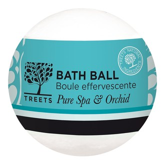 NATURE'S CHOICE - Boule de bain effervescente pure spa et orchidée