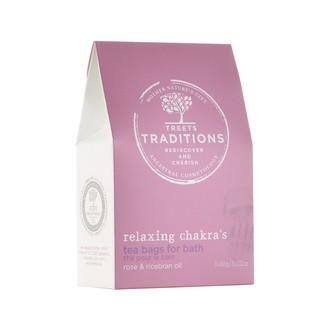 NATURE'S CHOICE - Set de 3 sachet de thé pour le bain à la rose et son de riz - 70gr