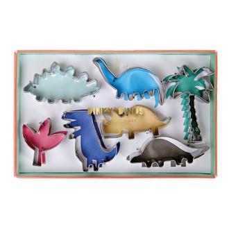 MERI MERI - Set de 7 emporte-pièces dinosaure en métal