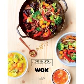 HACHETTE - Livre de cuisine Wok fait maison