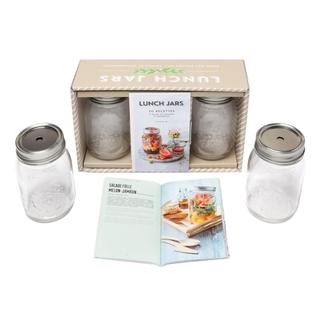 HACHETTE - Coffret lunch jars