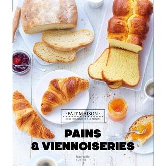 HACHETTE CUISINE - fait maison -pains et viennoiseries
