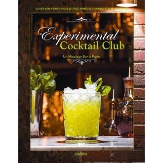 HACHETTE - Livre de cocktails Experimental Cocktail Club 85 cocktails vintages et indémodables