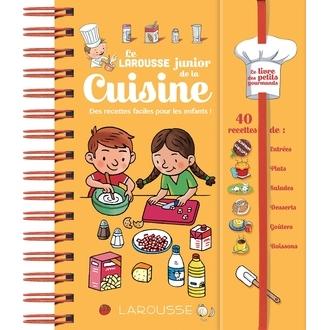 LAROUSSE - Livre Larousse Junior de la cuisine