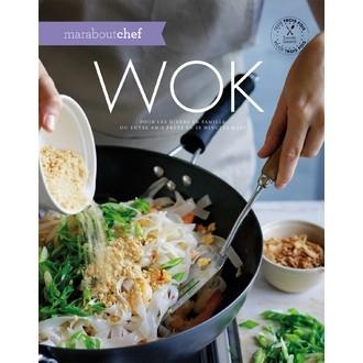 MARABOUT - Livre de cuisine Wok, pour les dîners en famille ou entre amis en 30 minutes maxi