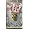 Pâte à sucre rose pastel aromatisée vanille 250g