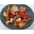 Assiette calotte Vezuvio noire 19cm