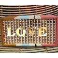 Boîte à mouchoirs en bois brut à décorer 28x14x7cm
