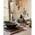 Tajine in ceramica color melanzana, diametro 32cm