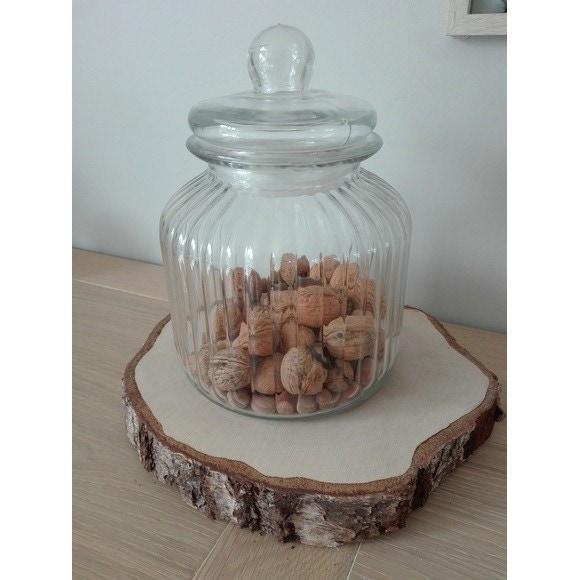 Porta biscotti in vetro 3,8L