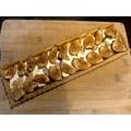 Moule à tarte avec fond amovible revêtu 35x11x2,5cm