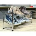 Etagère extensible pour chaussures en chrome