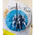 Disque de décoration en sucre Star Wars 16cm