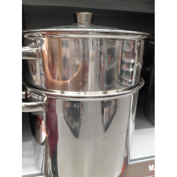 Couscoussiera in inox, 11 L, diametro 26cm