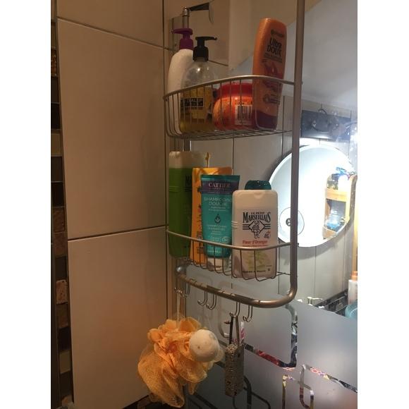 Serviteur de douche à suspendre satin Forma