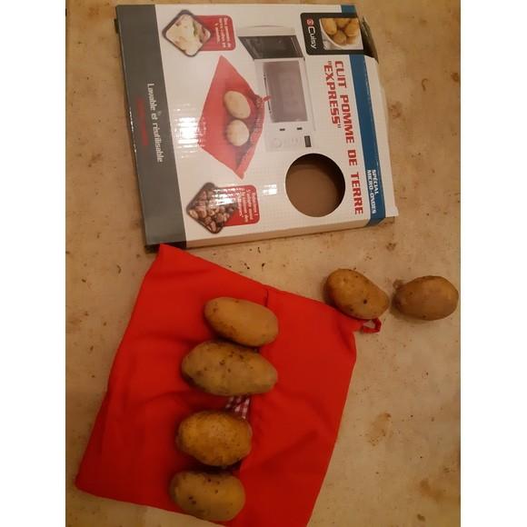 Prodotto in silicone per cucinare le patate in microonde