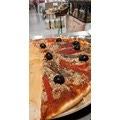Planche à pizza ronde en bois 35cm