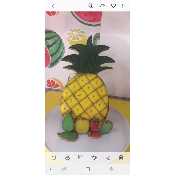 Stampo ananas xxl in inox