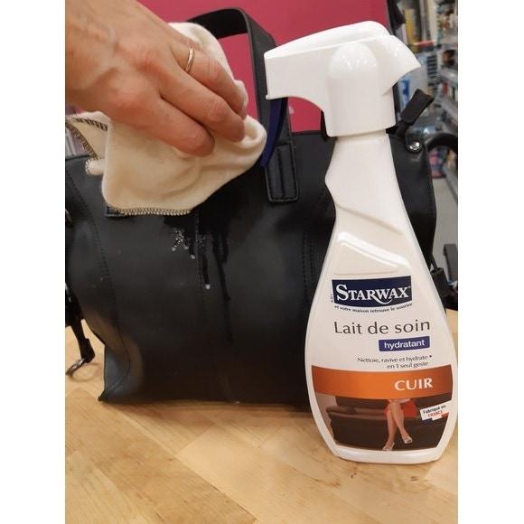 lait de soin en pulv risateur pour le cuir 500ml pas cher. Black Bedroom Furniture Sets. Home Design Ideas