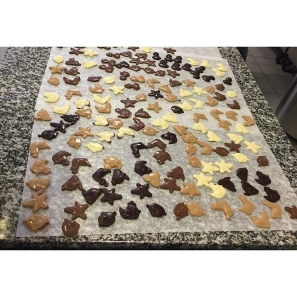 Chocolat de couverture blanc en pistoles Zephyr 1kg