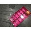 Scatola rosa per 12 macaron