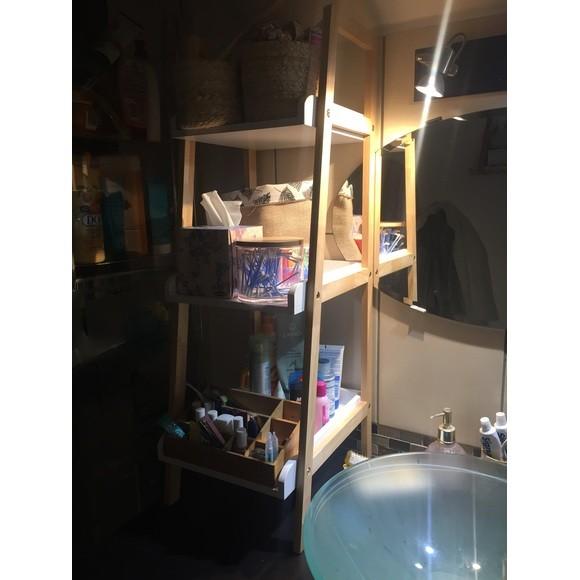 Etagère de salle de bain 3 niveaux en bambou