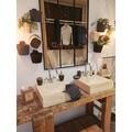 Distributeur de savon céramique liège Odémira noir