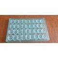 Moule à chocolats 36 empreintes en polycarbonate