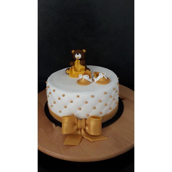 Pâte à sucre blanc aromatisée vanille 1kg