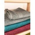 Asciugamano ospite verde 30x50cm