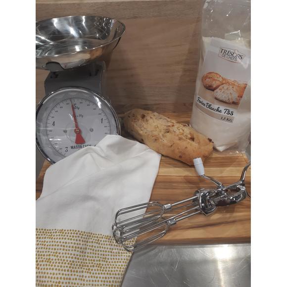 Balance de cuisine mécanique en inox 20kg