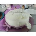Pâte à sucre lilas aromatisée vanille 100g