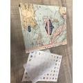 Kit album de voyage, lieux et aventures 15x21cm