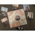 Album photos, ici je garde des voyages  27x25cm, 64pages