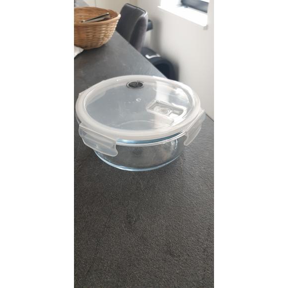 Contenitore tondo in vetro 950ml