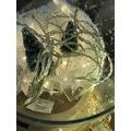 Décoration de Noël guirlande étoiles transparentes led285cm