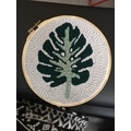 Kit punch needle feuille monstera